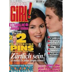 Bravo Girl Nr.2 / 10 Januar 1996 - Zärtlich sein!