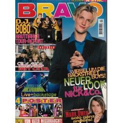 BRAVO Nr.44 / 24 Oktober 1996 - Nick Carter neuer Look
