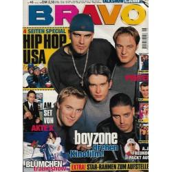 BRAVO Nr.46 / 12 November 1998 - Boyzone