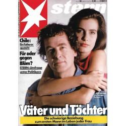 stern Heft Nr.33 / 6 August 1987 - Väter und Töchter