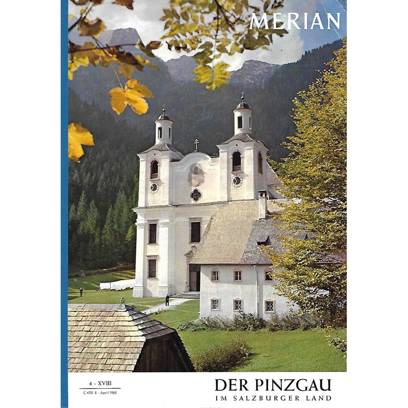 MERIAN Der Prinzgau 4/XVIII April 1965