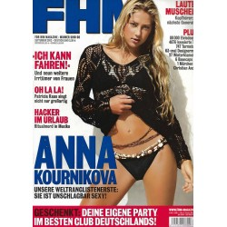 FHM September 2002 - Anna Kournikova