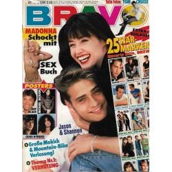 BRAVO Nr.41 / 1 Oktober 1992 - Jason & Shannen