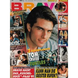 BRAVO Nr.51 / 13 Dezember 1990 - Tom Cruise & Turtles