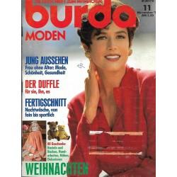 burda Moden 11/November 1991 - Jung Aussehen
