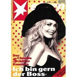 stern Heft Nr.38 / 19 September 1995 - Der Claudia Schiffer Konzern