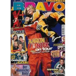 BRAVO Nr.35 / 27 August 1998 - Aaron & Nick on tour