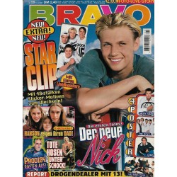 BRAVO Nr.29 / 10 Juli 1997 - Der neue Nick Carter