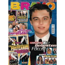 BRAVO Nr.24 / 10 Juni 1998 - Leonardo die neuesten Fotos