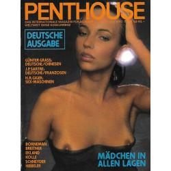 Penthouse Nr.6 / Juni 1980 - Sabine Gundlach
