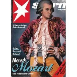 stern Heft Nr.21 / 16 Mai 1991 - Mensch Mozart
