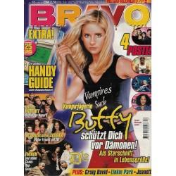 BRAVO Nr.13 / 21 März 2001 - Vampirjägerin Buffy