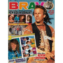 BRAVO Nr.20 / 8 Mai 1991 - Alles über Kevin Costner
