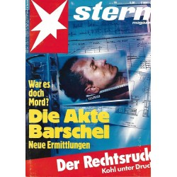 stern Heft Nr.16 / 9 April 1992 - Die Akte Barschel
