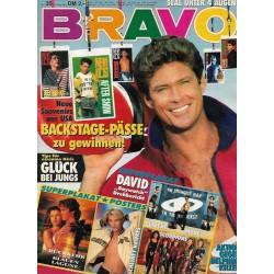 BRAVO Nr.35 / 22 August 1991 - David: Baywatch Drehbericht