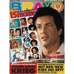 BRAVO Nr.6 / 31 Januar 1991 - Sylvester Stallone