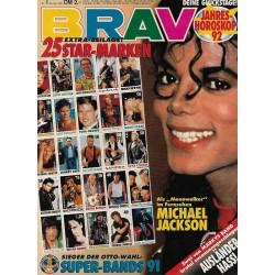 BRAVO Nr.1 / 23 Dezember 1991 - Moonwalker Michael Jackson