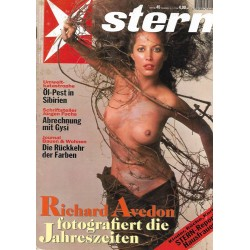stern Heft Nr.45 / 3 November 1994 - Richard Avedon