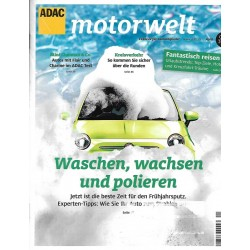 ADAC Motorwelt Heft.4 / April 2016 - Waschen, wachsen & polieren