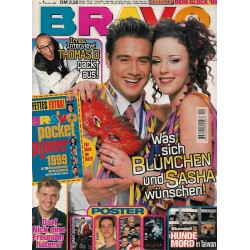 BRAVO Nr.1 / 30 Dezember 1998 - Blümchen und Sasha