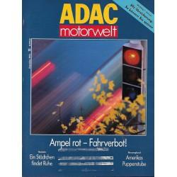 ADAC Motorwelt Heft.12 / Dezember 1992 - Ampel rot, Fahrverbot!