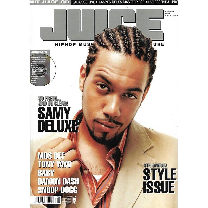 JUICE Nr.77 August / 2005 & CD 55 - Samy Deluxe