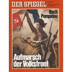 Der Spiegel Nr.15 / 8 April 1974 - Aufmarsch der Volksfront
