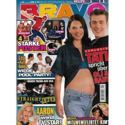 BRAVO Nr.45 / 5 November 1998 - Tati spricht über Oli & Baby