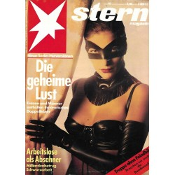 stern Heft Nr.40 / 26 September 1991 - Die geheime Lust