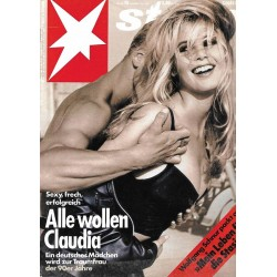 stern Heft Nr.15 / 5 April 1990 - Alle wollen Claudia