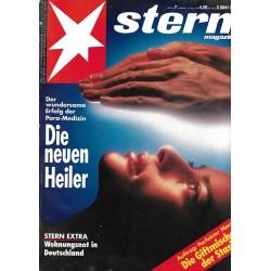 stern Heft Nr.7 / 11 Februar 1993 - Die neuen Heiler