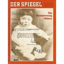 Der Spiegel Nr.31/ 24 Juli 1967 - Die Abstammung Hitlers