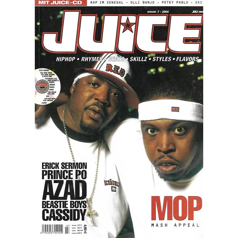 JUICE Nr.65 Juli / 2004 & CD 43 - MOP