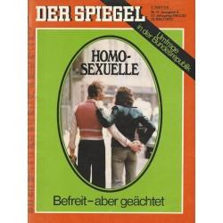 Der Spiegel Nr.11 / 12 März 1973 - Homo-Sexuelle