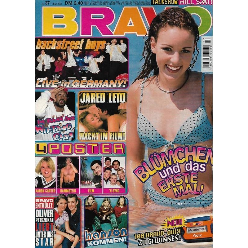 BRAVO Nr.37 / 4 September 1997 - Blümchen und das erste Mal!