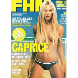 FHM Juni 2002 - Caprice