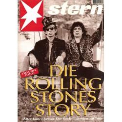 stern Heft Nr.25 / 14 Juni 1995 - Die Rolling Stones Story