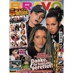 BRAVO Nr.18 / 24 April 1997 - Tic Tac Toe: Danke