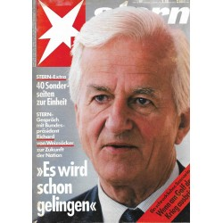 stern Heft Nr.41 / 4 Oktober 1990 - Richard von Weizsäcker