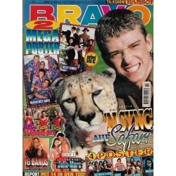 BRAVO Nr.23 / 28 Mai 1997 - N Sync auf Safari