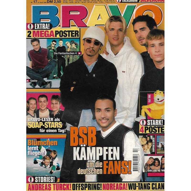 BRAVO Nr.17 / 22 April 1999 - BSB kämpfen