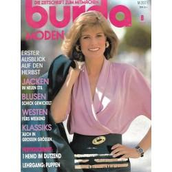 burda Moden 8/August 1990 - Blusen