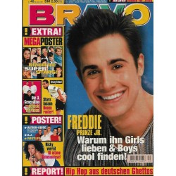 BRAVO Nr.40 / 29 September 1999 - Freddie Prinze Jr.