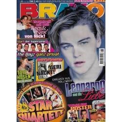 BRAVO Nr.6 / 5 Februar 1998 - Leonardo und die Liebe