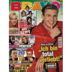 BRAVO Nr.51 / 16 Dezember 1998 - Nick: Ich bin total verliebt