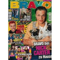 BRAVO Nr.22 / 28 Mai 1998 - Bei Nick Carter zu Hause