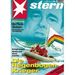 stern Heft Nr.30 / 20 Juli 1995 - Die Regenbogen Krieger