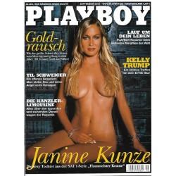 Playboy Nr.9 / September 2002 - Janine Kunze