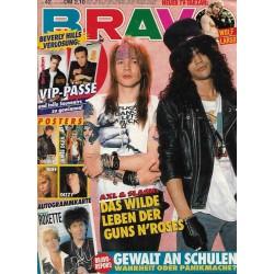 BRAVO Nr.42 / 8 Oktober 1992 - Das wilde Leben der Guns N Roses