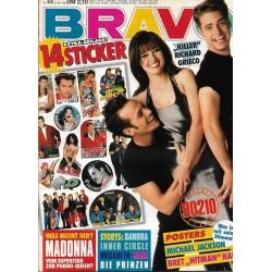 BRAVO Nr.44 / 22 Oktober 1992 - Beverly Hills 90210
